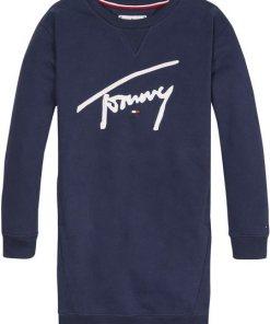 TOMMY HILFIGER Sweatkleid »TOMMY SIGNATURE«