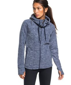 Roxy Kapuzensweatjacke »Electric Feeling« blau