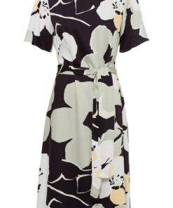 Esprit Collection Partykleid mit Bindeband auf Taillenhöhe