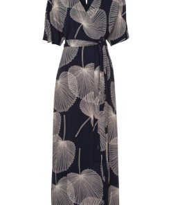 Esprit Collection Maxikleid mit apartem Alloverprint