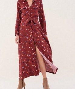 Salsa Kleid »Fontana« rot
