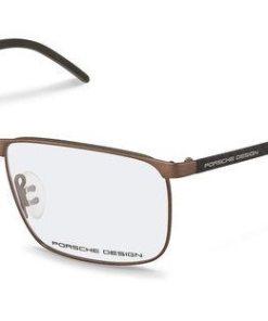 PORSCHE Design Herren Brille »P8339« braun