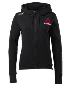 Reebok Kapuzensweatjacke »UFC Fight Night Blank Walkout Hoodie«