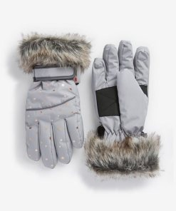 Next Ski-Handschuhe grau