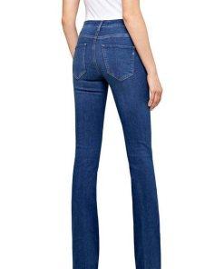 Replay Stretch-Jeans mit angesagtem Schlag blau