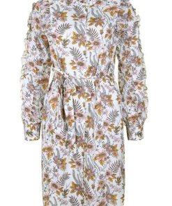 Scotch & Soda Blusenkleid »mit Blumenmuster« mit Rüschen