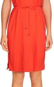 TOMMY HILFIGER Jerseykleid »ANGELA REGULAR C-NK DRESS SS« Mit Tommy Hilfiger Logostickerei orange