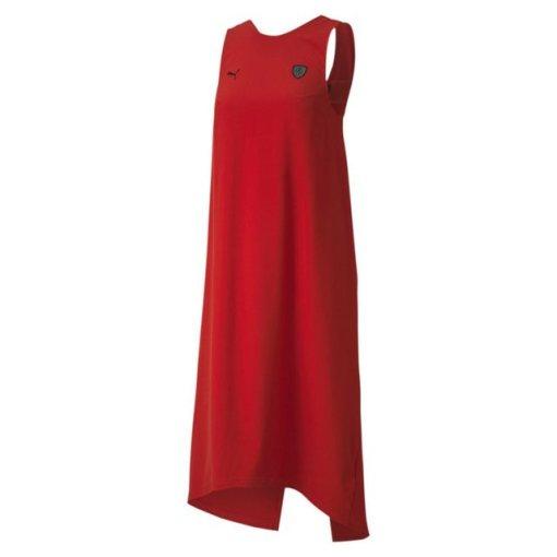 PUMA Sweatkleid »Ferrari Damen Kleid« rot