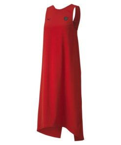 PUMA Sweatkleid »Ferrari Damen Kleid« rot