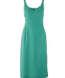 heine TIMELESS Kleid mit Seitenschlitzen grün
