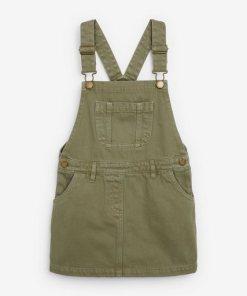 Next Denim-Trägerkleid grün