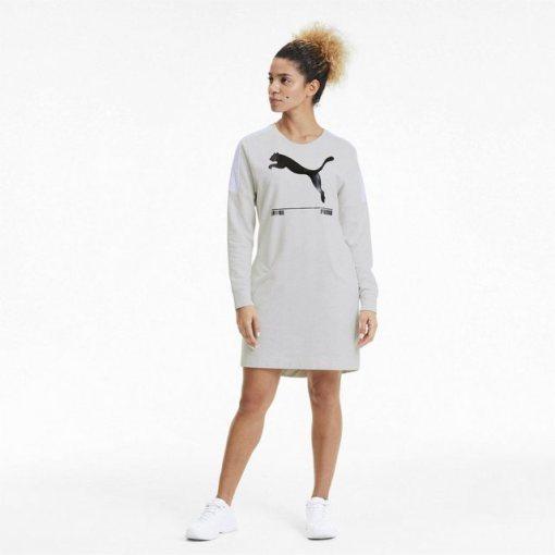 PUMA Sweatkleid »NU-TILITY Damen Kleid«