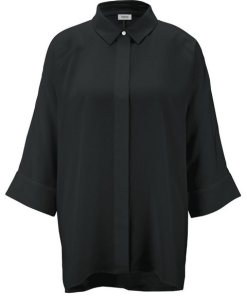 heine TIMELESS Bluse oversized schwarz