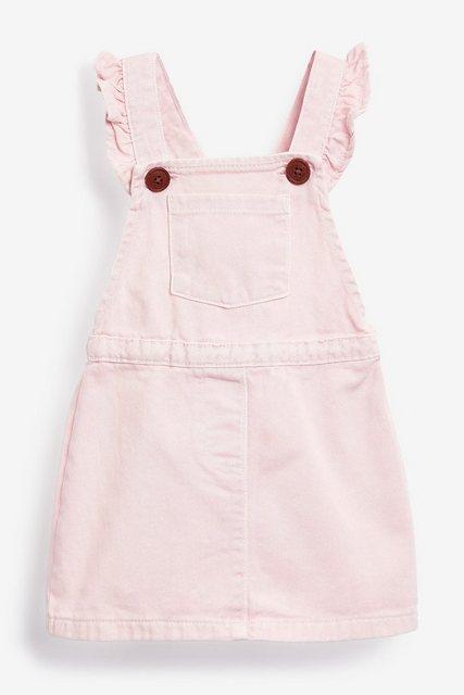 Next Trägerkleid mit Rüschen rosa
