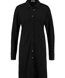 GERRY WEBER Kleid Gewirke »Ausgestelltes Blusenkleid« schwarz