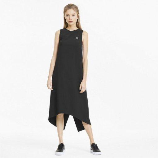 PUMA Sweatkleid »Ferrari Damen Kleid« schwarz