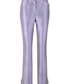 heine TIMELESS Hose aus Seide lila