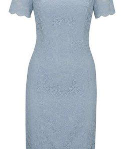 heine TIMELESS Kleid aus Spitze blau