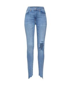 LEVI'S Jeans 'MILE HIGH SUPER SKINNY' blue denim