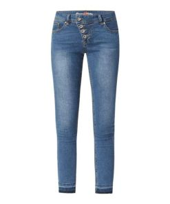 Slim Fit Jeans mit Stretch-Anteil Modell 'Malibu 7/8