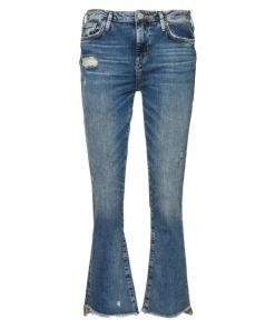 True Religion Jeans New Halle Kick Flair Crop