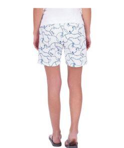 Trigema Legere Shorts mit modernem Druckdesign