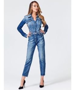 GUESS Jumpsuit blau