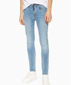 BLAUSpray-On Jeans in heller Waschung, BLAU