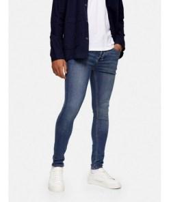 BLAUSpray-On Jeans in mittlerer Waschung, BLAU