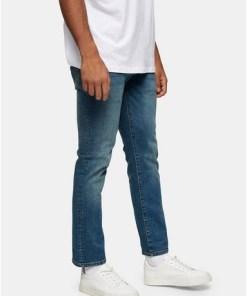 BLAUStretch Slim Jeans in mittlerer Waschung, BLAU