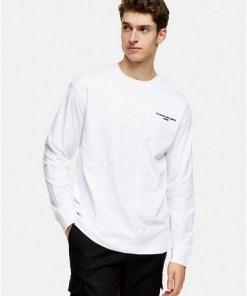 Oversize 'Le Temp' T-Shirt, weiß, WEIß