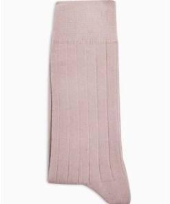 Gerippte Socken, pink, PINK