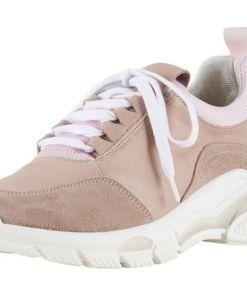 Heine Sneaker mit breiter Sohle, rosa