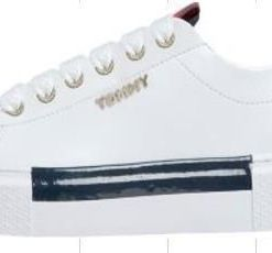 TOMMY HILFIGER Plateausneaker LEATHER ELEVATED TOMMY SNEAKER