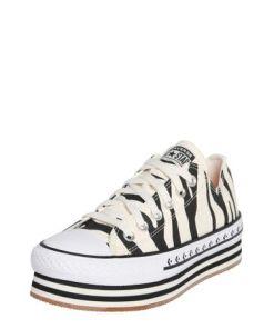 CONVERSE Sneaker 'CHUCK TAYLOR ALL STAR PLATFORM LAYER - OX' schwarz / weiß