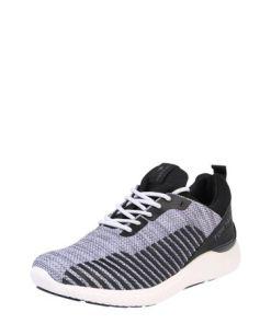 TOM TAILOR Sneaker weiß / schwarz / grau