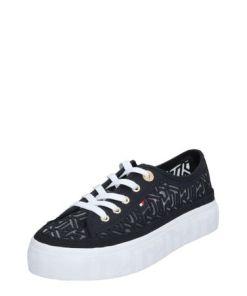 TOMMY HILFIGER Sneaker 'KELSEY 1D5' weiß / dunkelblau