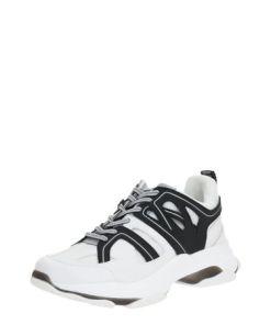 STEVE MADDEN Sneaker 'MAXXIM' weiß / schwarz
