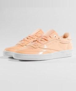 Reebok Frauen Sneaker Club C 85 Patent in beige
