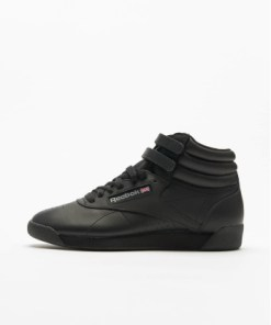 Reebok Frauen Sneaker Freestyle Hi Basketball Shoes in schwarz
