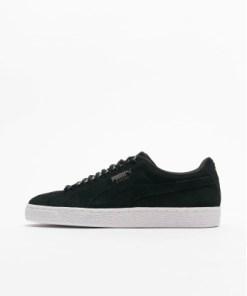 Puma Frauen Sneaker Suede Classic in schwarz