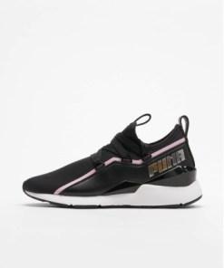 Puma Frauen Sneaker Muse 2 Tz in schwarz