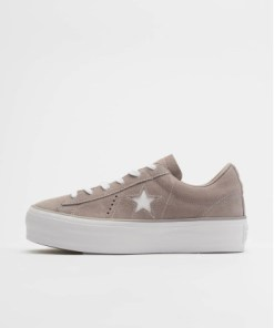 Converse Frauen Sneaker One Star Platform Ox in grau