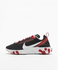 Nike Frauen Sneaker React Element 55 in schwarz