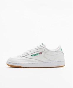 Reebok Frauen Sneaker Club C 85 in weiß