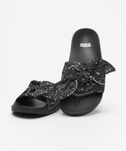Levi's® Frauen Sandalen June S Bandana in schwarz