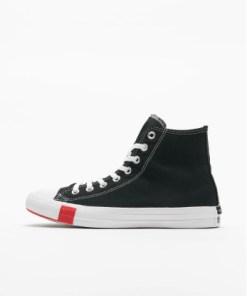 Converse Frauen Sneaker Ctas Hi in schwarz