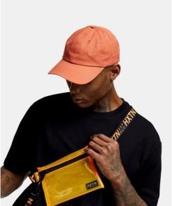 Transparente HXTN Umhängetasche, orange, ORANGE