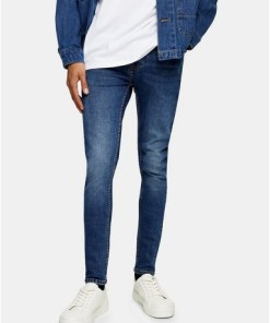 Dark washSpray-On Jeans in dunkler Waschung, Dark wash