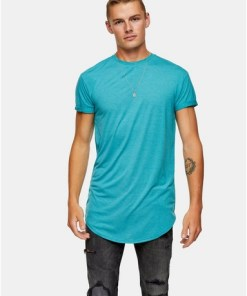 Langes T-Shirt, grün, GRÜN